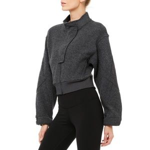 NWT Alo Yoga Strut Jacket - S, M, L - Anthracite